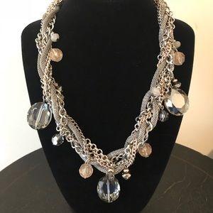 White House Black Market braided necklace
